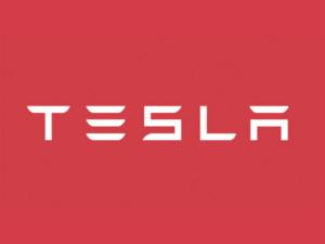 Logo da Tesla Motors.