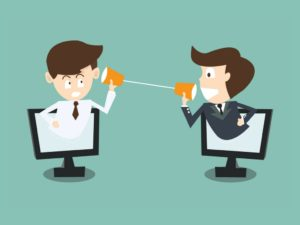 falar com clientes